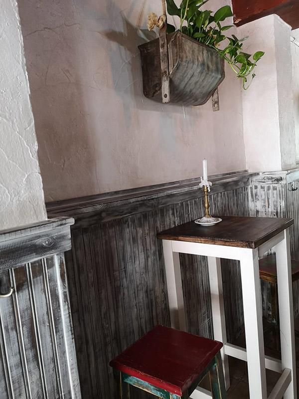 Imagen del interior de la Piccola Gijón