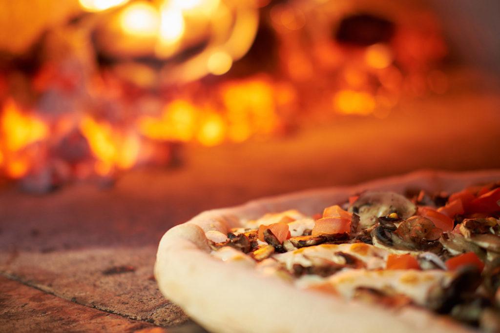 Pizza en las pizzerías de Gijón