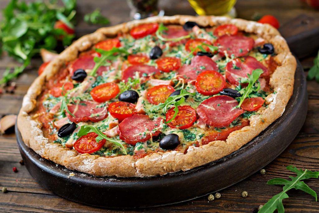 Expansión de la pizza a través de la historia
