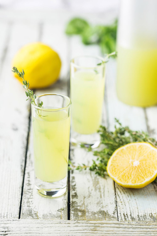 Bebidas típicas italianas: limoncello