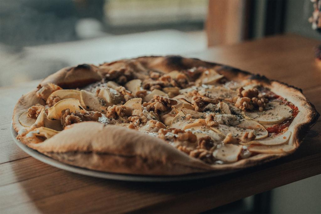 Piccola Stanza: aporte nutricional de la pizza