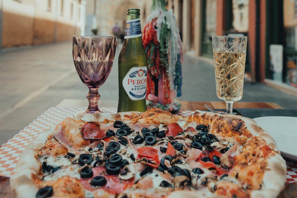 Piccola Stanza: masa de pizza