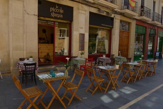 Imagen del exterior de La Piccola