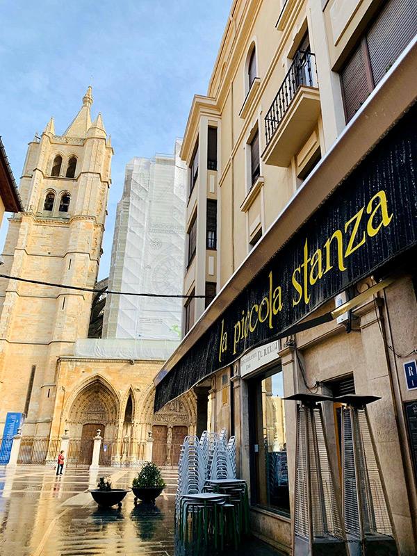 Imagen de la fachada de La Piccola