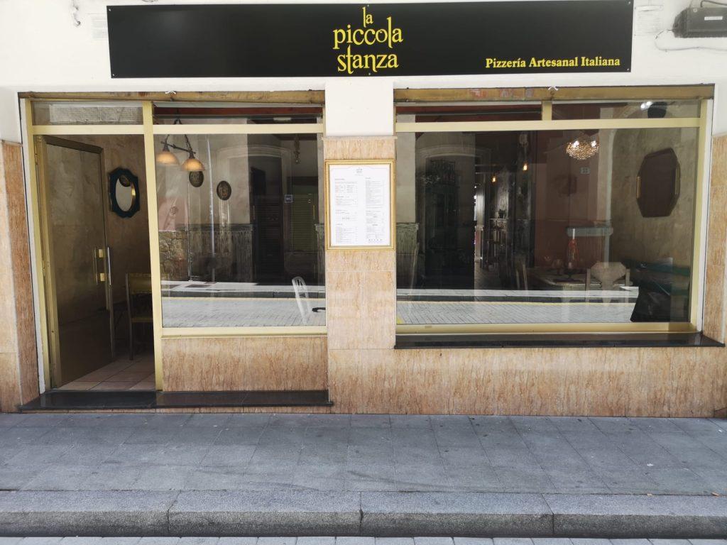 Imagen de la fachada de la Piccola Gijón