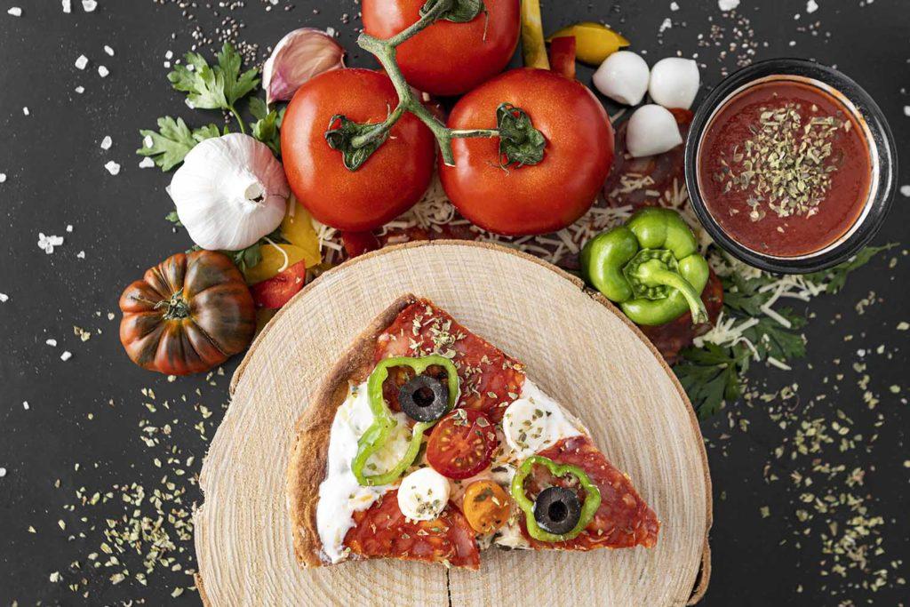 Ingredientes de calidad de las pizzas a domicilio en León