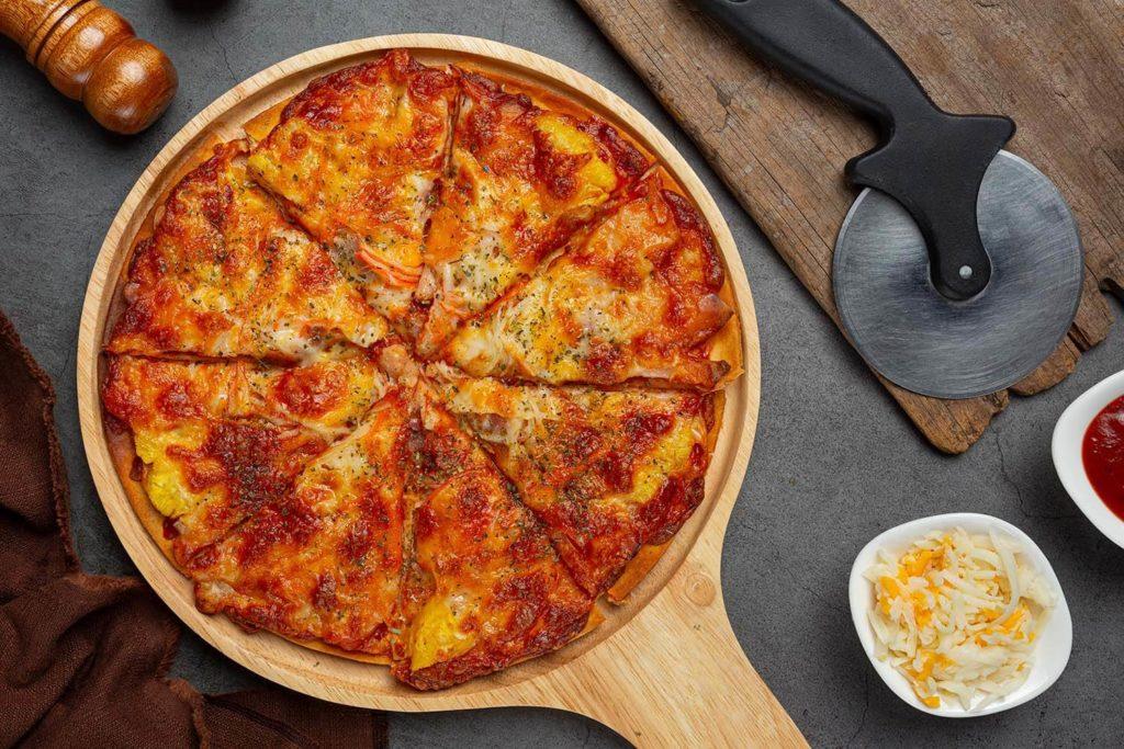 Auténtica pizza italiana en León