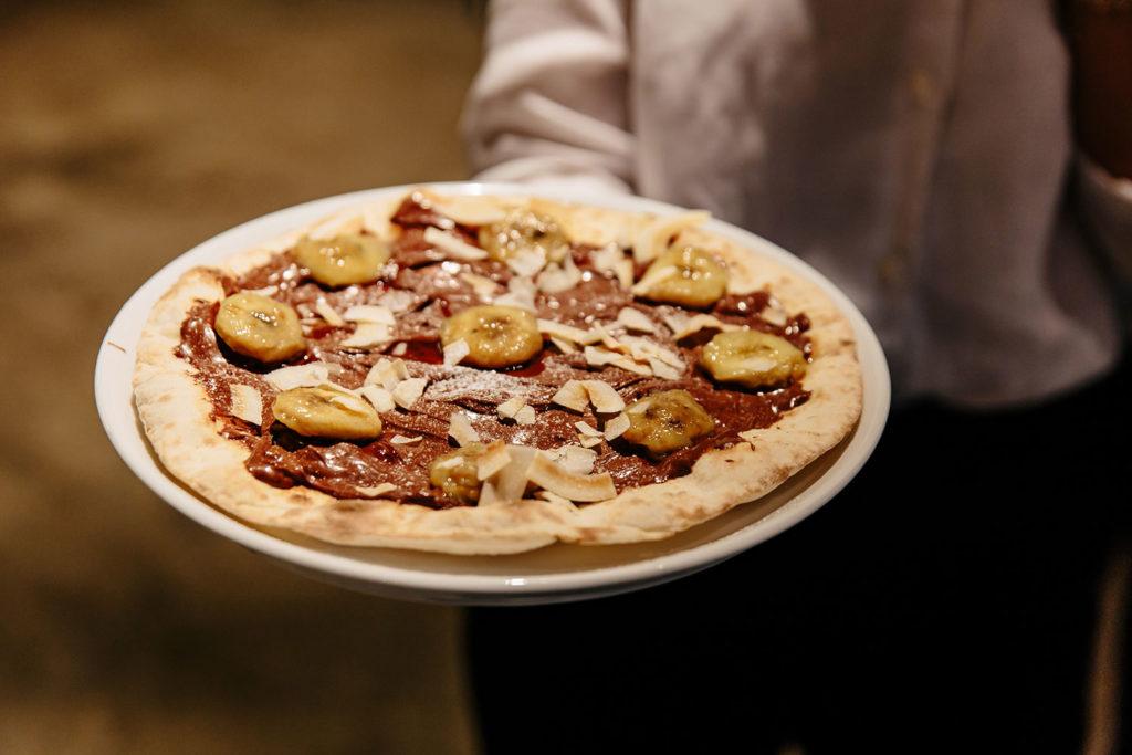 Piccola Stanza: pizza dulce