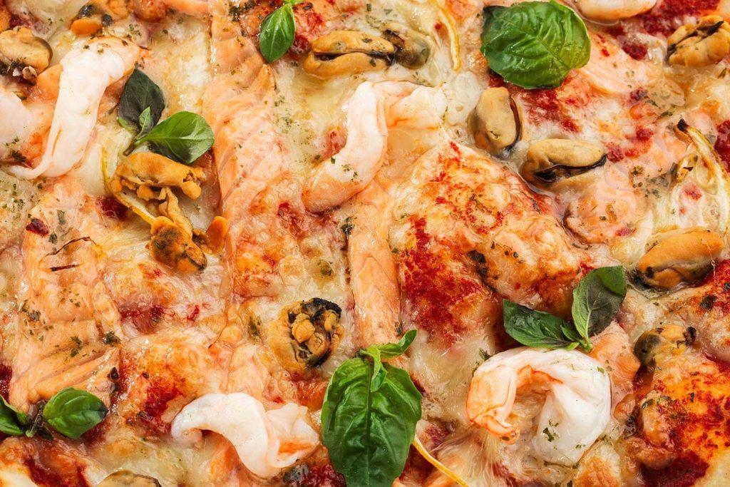 Piccola Stanza: pizza marinera