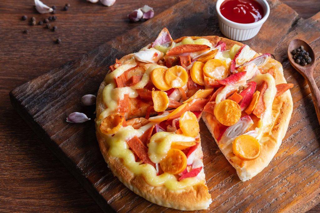 Piccola: pizza masa americana