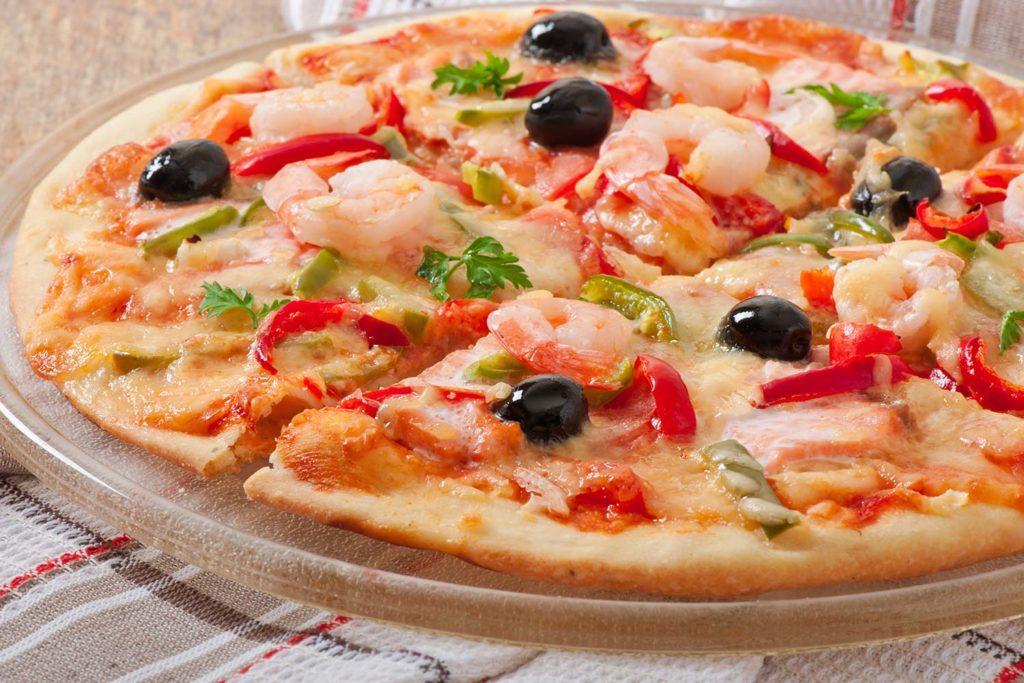 Piccola: pizza masa fina