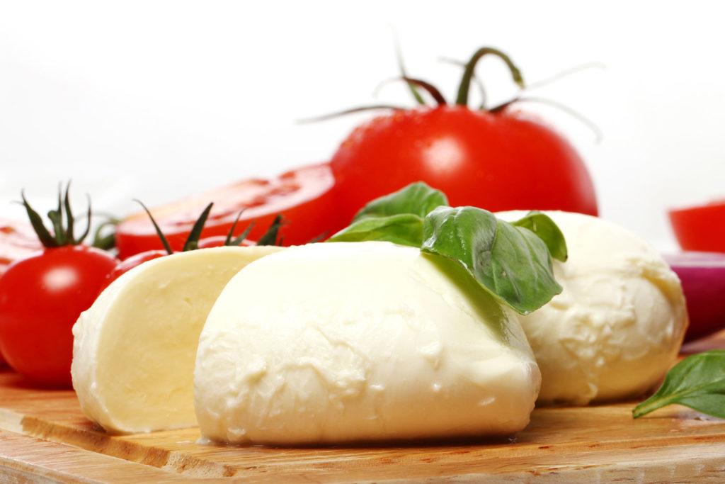 Piccola: tipos de queso mozzarella