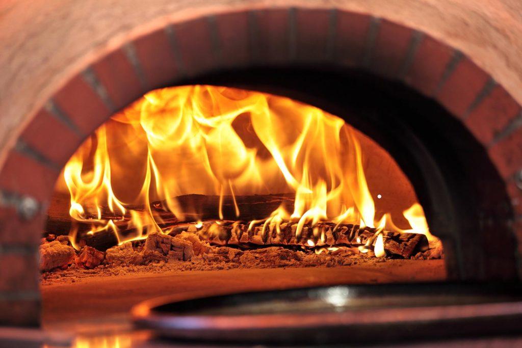 Piccola: horno de leña