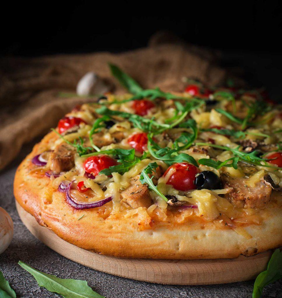 Piccola Stanza: pizza argentina